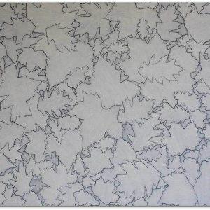 Frits Stiemer, Dutch painter, bladeren, herfst en kunst, schilderen met acrylverf, interior design