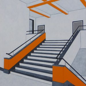 Bauhaus academy (80x100 cm)
