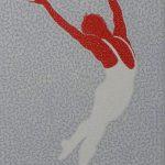 frits stiemer, danser, interior design, kunst in huis, Veenendaal, paintings, acryl, linnen, balletdans, dutch painter,